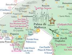 Karte Marratxi Mallorca