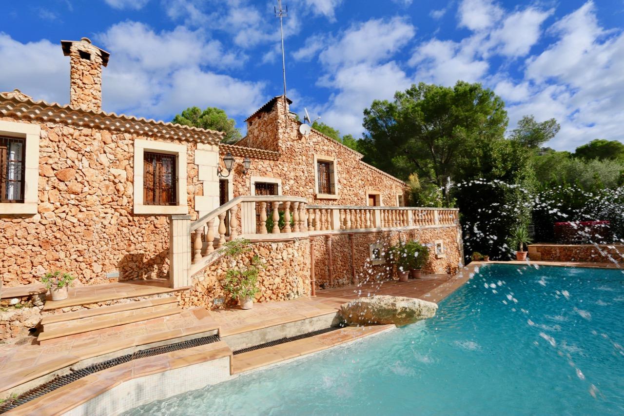 Sommerküche Auf Terrasse : Ferienhaus costalgo auf mallorca mieten finca ferienhaus